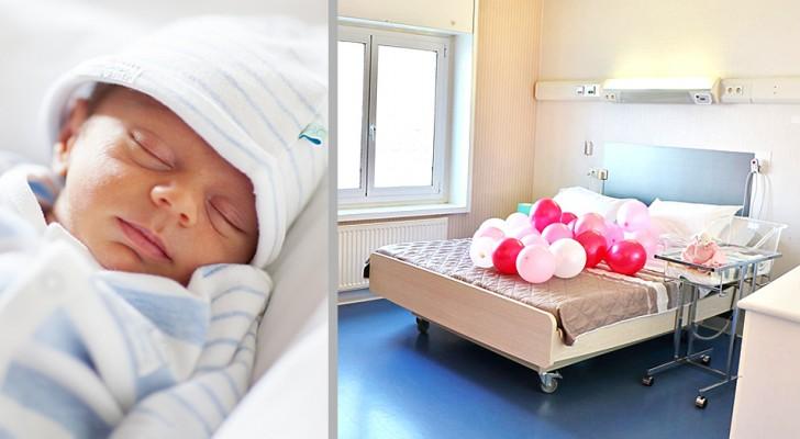Dans cette maternité, les parents et les bébés peuvent dormir dans un lit double et se sentir comme à la maison