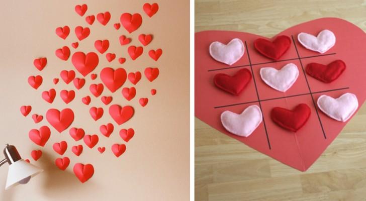 10 idee semplici e originali per splendidi lavoretti da creare a San Valentino