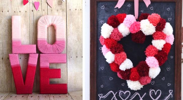 10 fra le idee più romantiche per decorare a San Valentino e rendere creativa la vostra festa