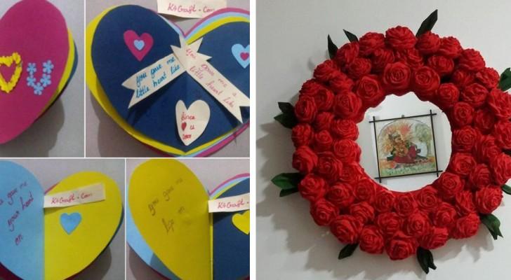 Lavoretti per San Valentino: 10 idee creative per sorprendere i propri cari con un gesto affettuoso