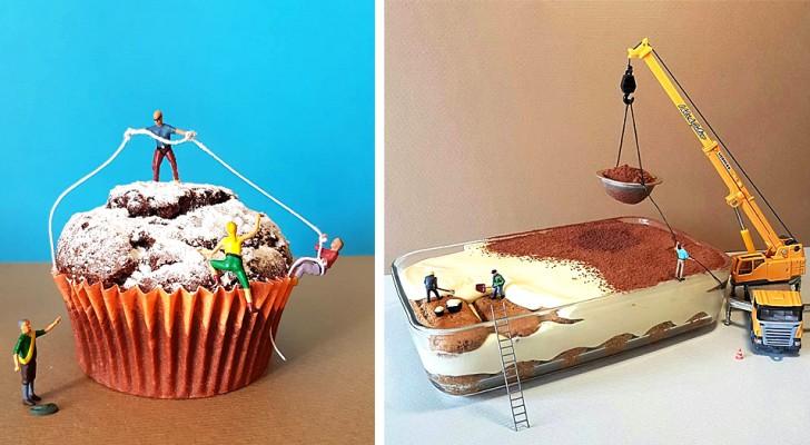 Ce jeune pâtissier crée des desserts qui ressemblent à des univers miniatures