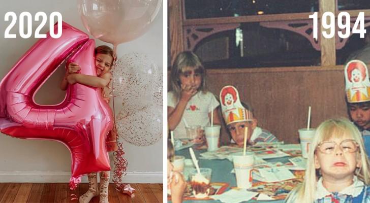 De verjaardagsfeestjes van kinderen hebben tegenwoordig de eenvoud van het verleden verloren: het lijken net miniatuurhuwelijken