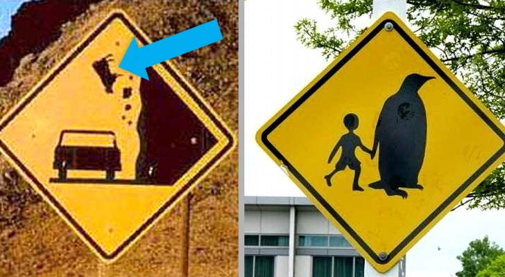 10 panneaux routiers du monde entier qui mériteraient un prix pour leur étrangeté et leur originalité