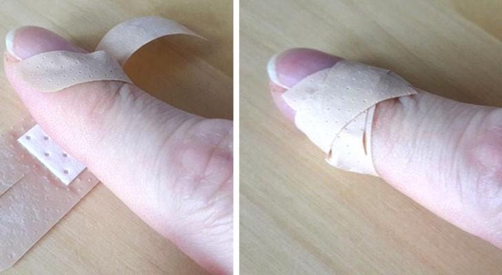 3 metodi efficaci per applicare i cerotti nel modo giusto su ogni tipo di ferita alle dita