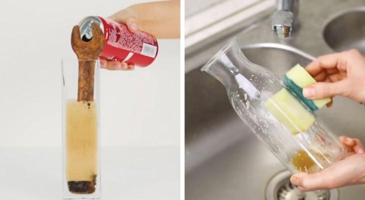 9 metodi efficaci per fare le pulizie con