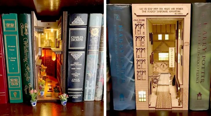 Deze boekensteunen voor je boekenkast brengen je naar fantastische werelden en verre tijdperken