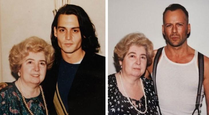 In einem Secondhand-Laden wurde das Album einer Frau gefunden, die zusammen mit den berühmtesten Filmstars Hollywoods fotografiert wurde