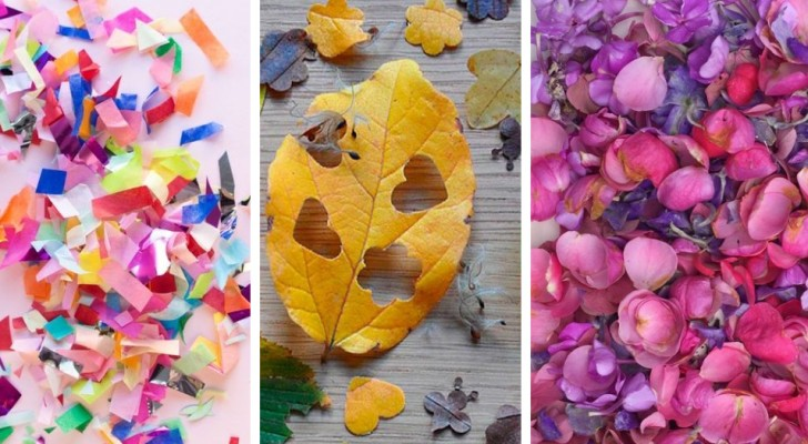 3 modi originali ed economici per creare deliziosi coriandoli fai-da-te riciclando in modo creativo