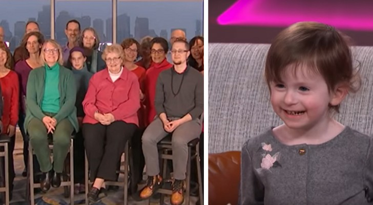 40 people learn Sign Language in order to communicate with their neighbors' deaf daughter