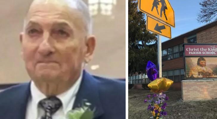 Dieser alte Mann verlor sein Leben, um 2 Kinder zu retten, die in Gefahr waren, überfahren zu werden