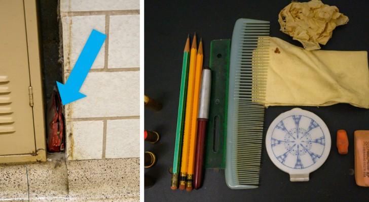 Trovano a scuola una borsa persa 60 anni prima: all'interno gli effetti personali di una studentessa dell'epoca