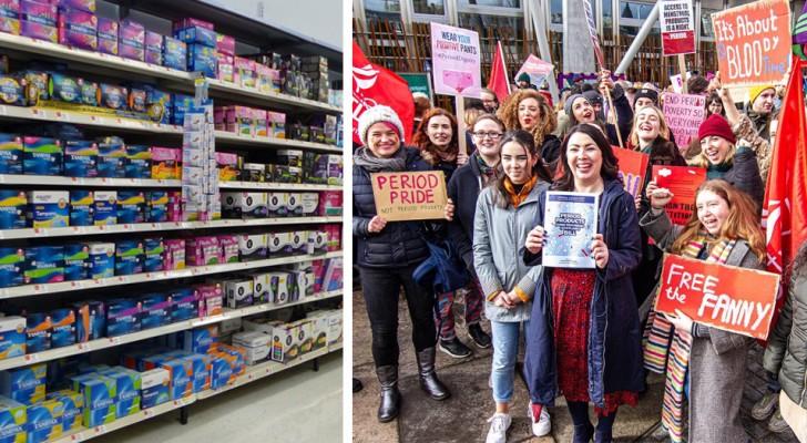 La Scozia potrebbe diventare il primo Paese a rendere gratuiti tamponi e assorbenti: una misura a favore di tutte le donne