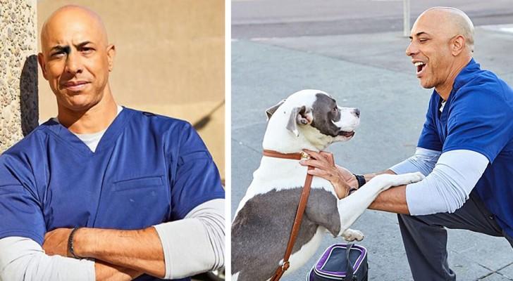 Kwane, de straatdierenarts die dakloze dieren gratis behandelt