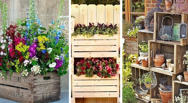 Molto 10 irresistibili proposte fai-da-te per arredare il giardino con TA98