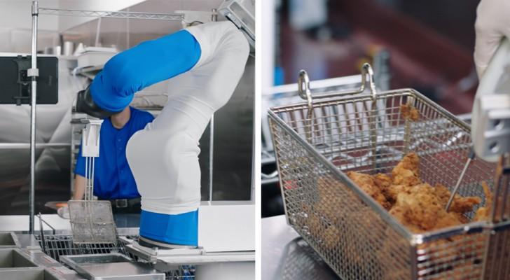 Flippy, il robot che cucina gli hamburger nei ristoranti e rimpiazza il lavoro umano per soli 3$ l'ora