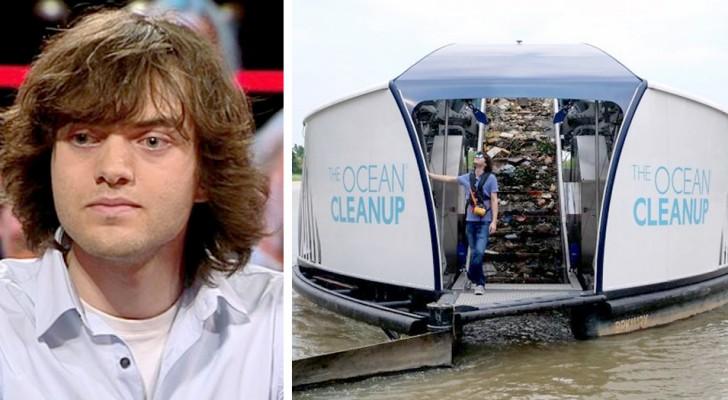 Quest'imprenditore ha realizzato delle chiatte ad energia solare che ripuliscono i fiumi dalla plastica