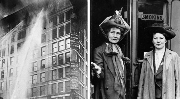 The 8th of March was born to commemorate a fire that in 1911 killed 146 workers in a New York factory