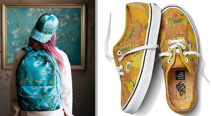 Die Bekleidungsmarke Vans hat eine Linie von Kleidung und Accessoires geschaffen, die alle von der Kunst Van Goghs inspiriert sind