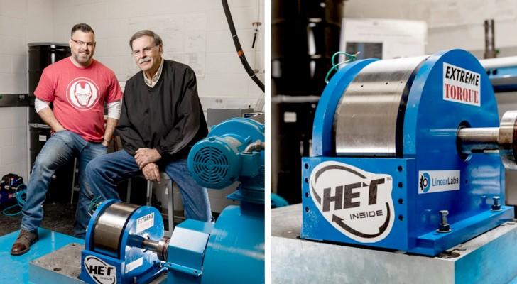 Vater und Sohn bauen eine energiesparende und erschwingliche Turbine für Elektrofahrzeuge