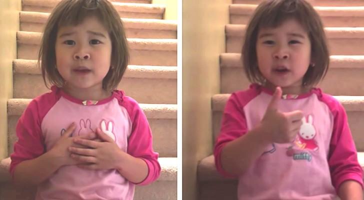 Nous pouvons tous être gentils et sourire : le tendre conseil d'une fillette de 6 ans à ses parents qui divorcent