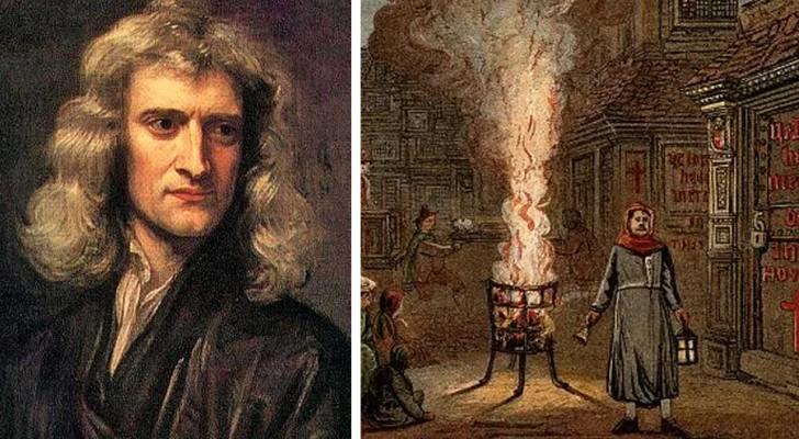 Die Pestquarantäne von 1666 ermöglichte es Newton, das Gesetz der Schwerkraft und die Natur des Lichts zu entdecken