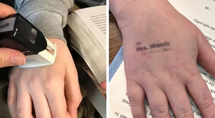This teacher made handwashing fun for her 3rd graders. Each morning she puts a stamp on their hand; if it's gone by the end of the day, they get a prize