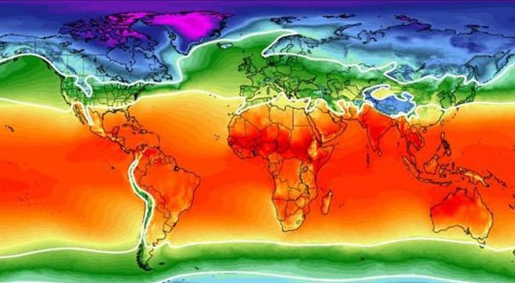 Coronavirus: volgens de onderzoekers zou er een klimaatzone zijn waarin het zich gemakkelijker ontwikkelt