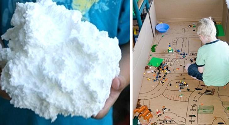 13 passatempi creativi perfetti per intrattenere i bambini in casa e divertirsi con creatività