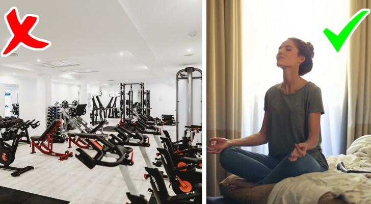 Experten sagen, Fitnessstudios sind die idealen Orte für Viren und Bakterien
