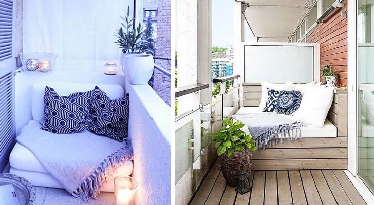 18 proposte a cui ispirarsi per trasformare il balcone in un irresistibile angolo relax