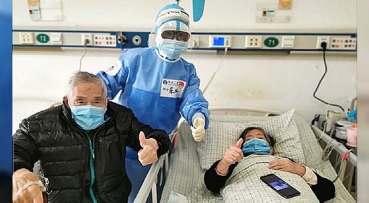 Hij is 98 jaar oud, zij is 85: beiden herstellen van het Coronavirus nadat ze dagen hebben gevochten tegen de ziekte