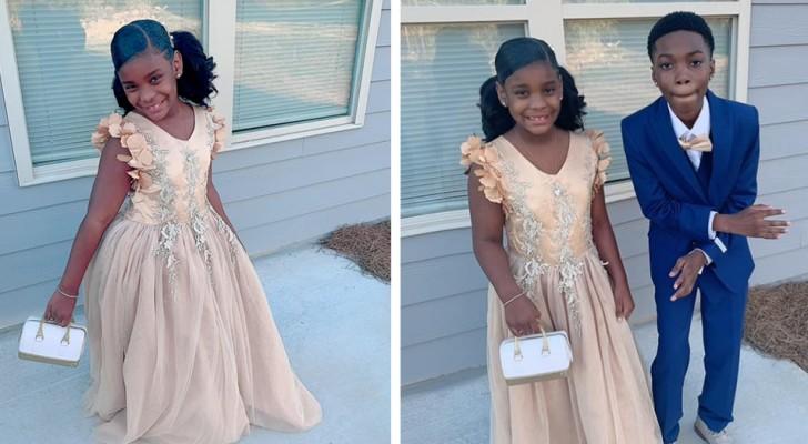 Le papa de la petite fille ne se présente pas au bal père-fille : le frère aîné décide de l'accompagner pour la rendre heureuse
