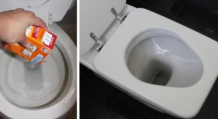 4 facili trucchi fai-da-te per sbiancare il WC e farlo tornare come nuovo