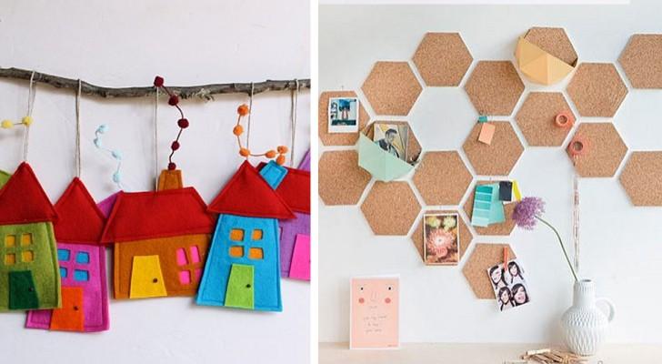 15 irresistibili progetti per decorare la cameretta dei bimbi con allegre creazioni fai-da-te