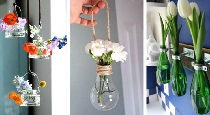 9 proposte una più bella dell'altra per decorare con i fiori e portare una ventata di primavera in casa
