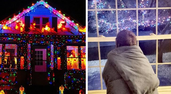 Coronavirus, aux États-Unis, les habitants installent des illuminations de Noël pour égayer les personnes en quarantaine