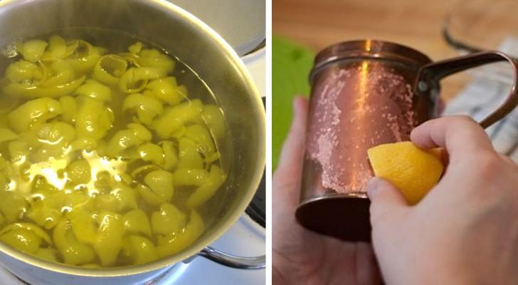 6 impieghi alternativi delle scorze di limone che tornano utili nella vita di tutti i giorni