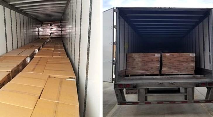 Coronavírus: a polícia americana para um caminhão roubado que transportava 8 toneladas de papel higiênico