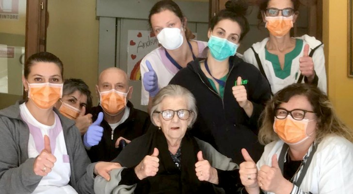 Coronavirus: 95-year-old woman recovers from the Covid-19 without antiviral therapy