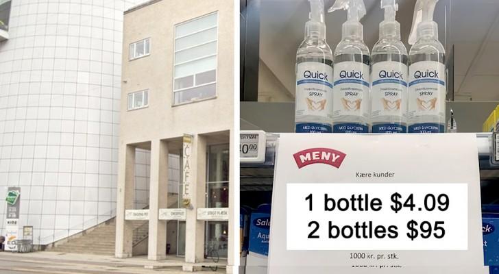 Un gel coûte 4 dollars, 2 gels en coûtent 95 : l'idée du magasin pour éviter la razzia des clients