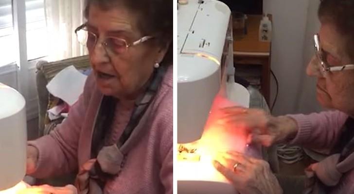 Chaque jour, cette grand-mère de 84 ans coud plus de 50 masques pour en faire don aux hôpitaux et à qui en a besoin