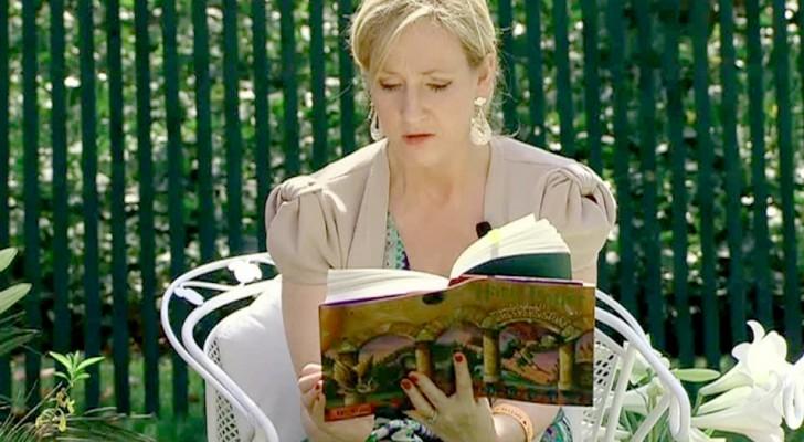 """J.K. Rowling wijzigt de licentie van """"Harry Potter"""" zodat leerkrachten deze kunnen lezen voor de leerlingen die thuis zijn"""