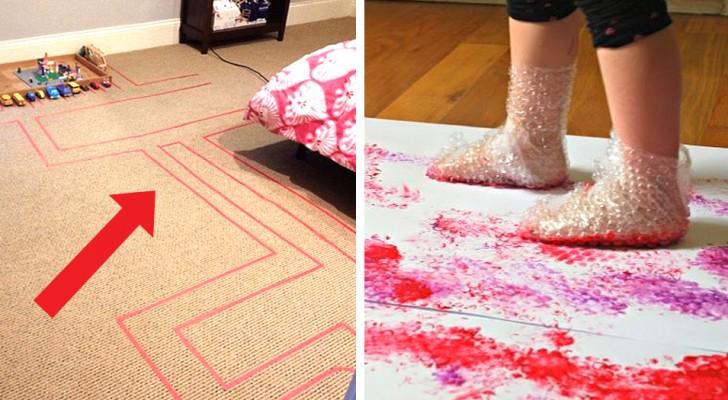 7 activités à faire à la maison avec les plus petits, parfaites pour les occuper et les amuser de façon créative