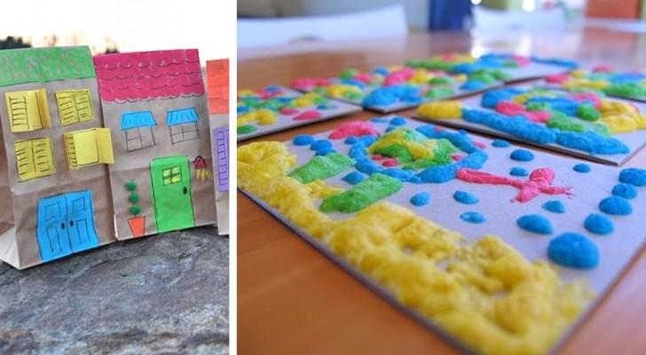 7 attività deliziose ed economiche per intrattenere i bambini in casa e farli divertire con creatività