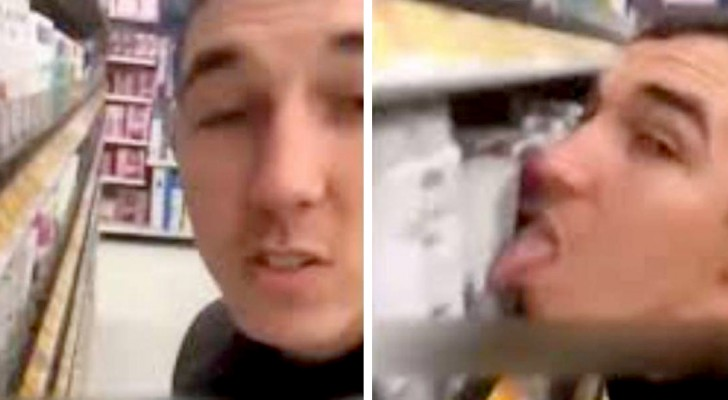 Ein 26-jähriger Junge trotzt dem Coronavirus und beleckt Deodorants in einem Supermarkt: Verhaftung durch die Polizei