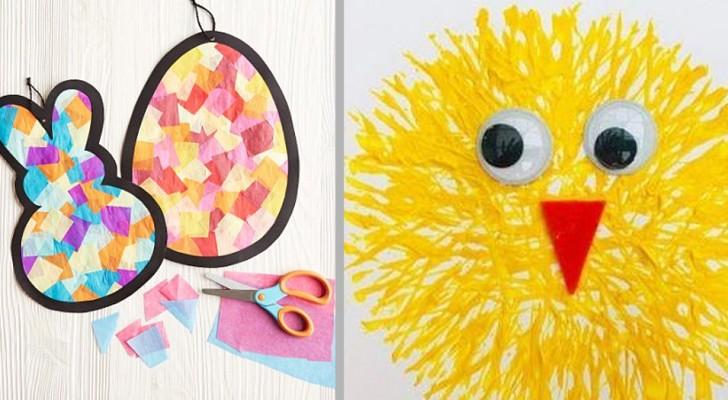 10 lavoretti di Pasqua facili e colorati ideali da provare con i bambini