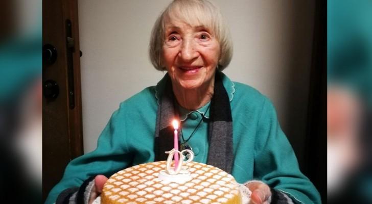 A 102 anni sconfigge il Covid-19: nonna Lina sopravvive a 2 pandemie e i medici la chiamano