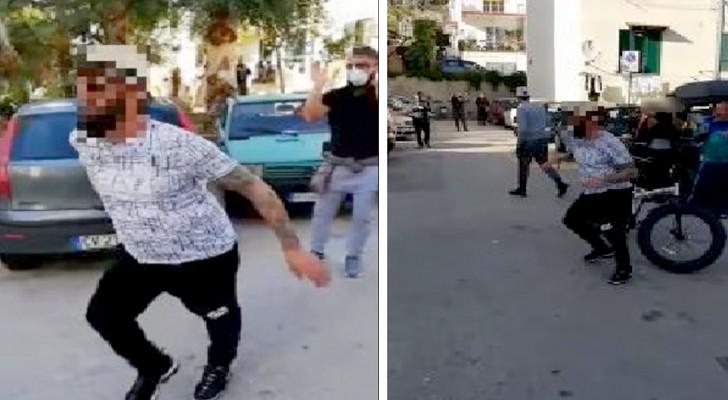 Pozzuoli: festa in strada per una decina di cittadini, incoscienti delle misure della quarantena in vigore