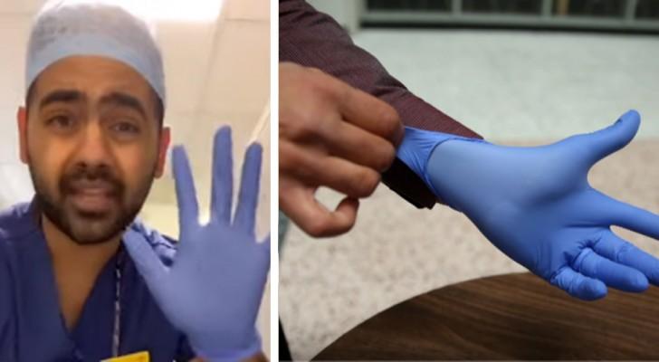 Un médecin explique comment utiliser correctement les gants pour faire les courses et éviter certaines erreurs très courantes