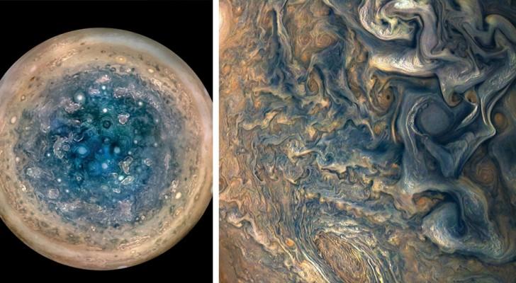 Le spettacolari foto di Giove della NASA: tempeste ipnotiche e cicloni percorrono la superficie del Gigante gassoso